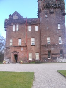 Broderick Castle in the Isle of Arran