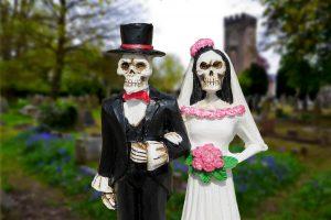 spooky wedding affair