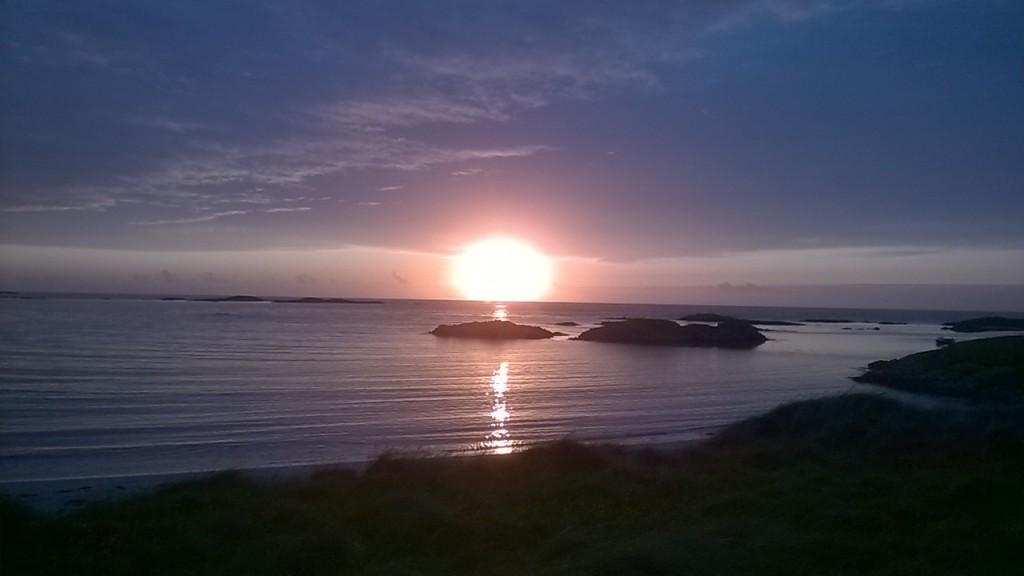 evening sunset Tiree