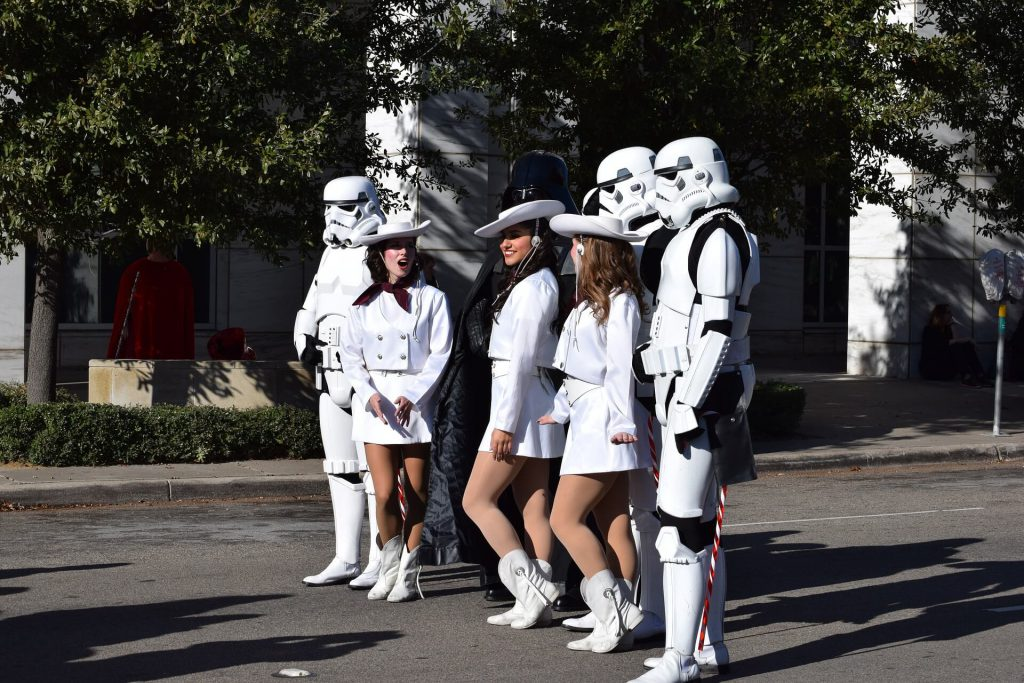 storm troopers meet cowgirls
