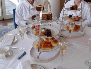 afternoon tea at Trump Turnberry