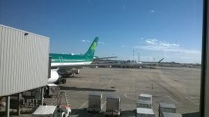 aer lingus on runway